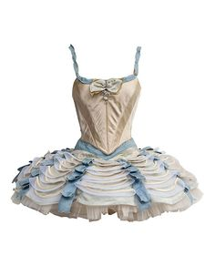 New York City Ballet | gorgeous tutu | colours, texture and fabric work together to create this beautiful tutu