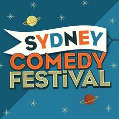 Sydney Comedy Festival branding Festival Guide, Comedy Festival, We Are Festival, Typography Love, Vintage Typography, Branding, Festivals, Sydney, Learning