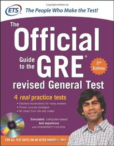 GRE The Official Guide to the Revised General Test, Second.: GRE The Official Guide to the Revised General Test, Second… Best Gre Prep, Gre Preparation, Gre Math, Gre Test, Essay Writing, Writing Topics, Essay Topics, Book Lists