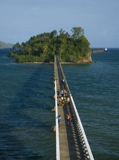 Samana Bay Bridge, Samana, DOMINICAN REPUBLIC
