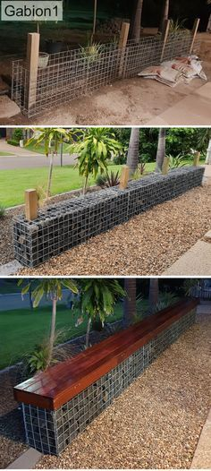 What You Can Do To Improve Your Landscaping using Garden Arbor Everyone that owns a home wants to take pride in it. Garden Arbor, Garden Fencing, Garden Paths, Backyard Seating, Backyard Landscaping, Patio, Gabion Baskets, Path Ideas, Path Design