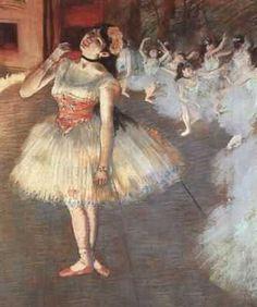 La star, par Édgar Degas
