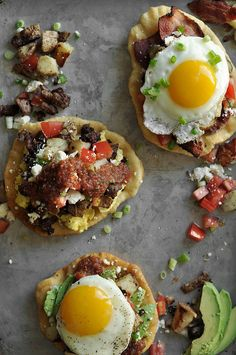 Fry Bread Breakfast Tacos - Note to self:  Self, make it happen.