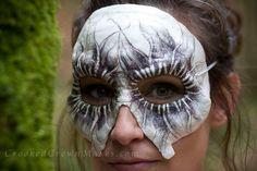 Flower Skull Mask  Masquerade  party  by WhiteMothEmporium on Etsy, $70.00