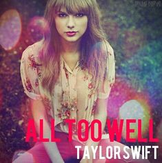 All too well cover made by Pushpa