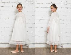 Vestidos de Primera Comunión para niñas de Nicoli