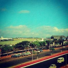 Congonhas Airport in the 60's (Sao Paulo / Brazil)