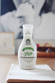When a photographer falls in love with Califia Almondmilk...
