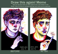 Image result for Draw This Again! Meme