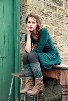 Slouchy Ankle Warmers