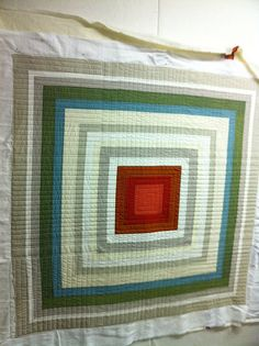 photo 5.JPG | Flickr - Photo Sharing!  Beautiful straight line quilting.