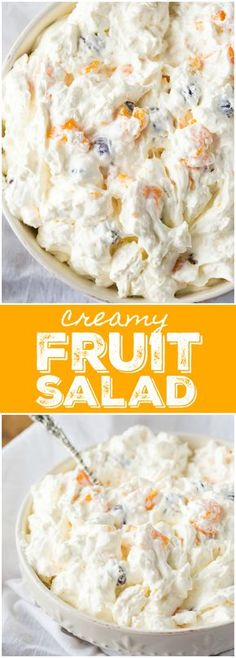 Creamy Fruit Salad – A dreamy salad/dessert that will be a surefire hit! It's easy to make and so tasty to eat. Creamy Fruit Salad – A dreamy salad/dessert that will be a surefire hit! It's easy to make and so tasty to eat. Fruit Salad Recipe Pinoy, Fruit Salad Recipes, Jello Salads, Filipino Fruit Salad, Pinoy Recipe, Creamy Fruit Salads, Dessert Salads, Easy Fruit Salad, Köstliche Desserts