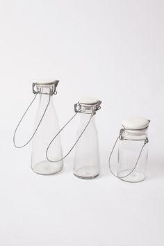 Glass Bottles starting at $30