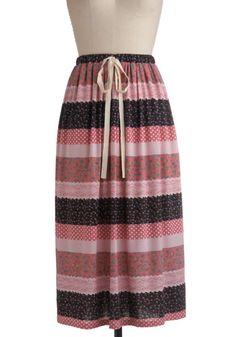Watermelon Patchwork Skirt  $69.99