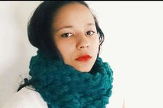 Crochet cowl/ infinty scarf Crochet cowl in by reneeoriginals1, $30.00 #fashion #handmade #unique #fallfashion #blue #teal #model #moda #fashionista #winter #musthave
