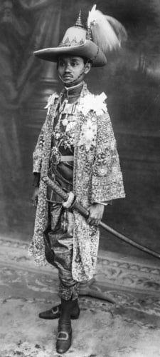 King Rama VII of Siam.