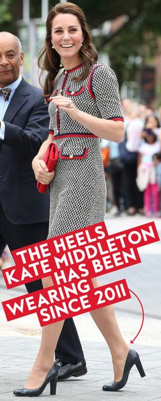 b38341e2de1 Kate Middleton Has Worn These Dependable Heels Since 2011