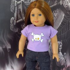 American Girl Doll Clothes Halloween Kitty by SewFunDollClothes, $12.00