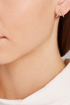 Wendy Nichol | 14-karat gold diamond earring | NET-A-PORTER.COM