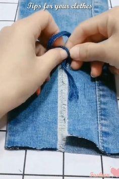 Sewing Hacks, Sewing Tutorials, Sewing Crafts, Sewing Projects, Diy Projects, Diy Crafts Hacks, Diy Home Crafts, Fashion Sewing, Diy Fashion