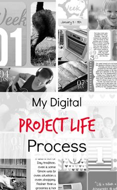 by Holly... how I do digital project life so I am sharing my project life process in case it helps others find their own process.