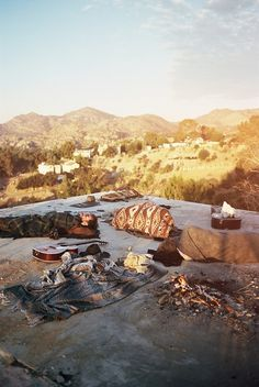 Mountains, sunrise, guitars. Pretty much everything you need,