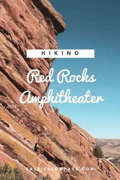 Hiking Red Rocks Amphitheater in Denver, Colorado and other fun things to do on a weekend in Denver. Informations About The Best Way to Spend a Short Weekend Weekend In Denver, Denver Vacation, Denver Travel, Travel Usa, Travel Oklahoma, Denver Colorado Hiking, Red Rocks Colorado, Visit Colorado, Colorado Mountains