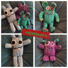 Wooly monsters