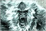 """YETI  The Yeti, also known as the """"Abominable Snowman,"""" hails from the cold climate of the Himalayan Mountains. Its name loosely translates """"metoh-kangmi,"""" which means """"man-bear snowman."""" However, this elusive creature doesn't look like a snowman at all. Covered in brown fur, the Yeti reportedly resembles a human-gorilla hybrid or possibly a bear. It stands more than 11 feet (3.3 meters) tall. With a menacing howl and eyes that glow, this beast reportedly protects the mountains from…"""