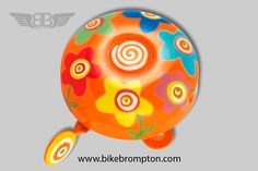 Spring bicycle bell, accessory for Brompton