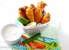 Saffron Chicken Wings Recipe on Yummly