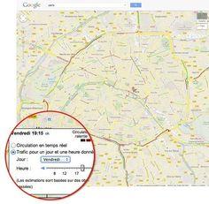Google Maps : les prévisions de trafic pour les axes secondaires