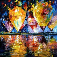 BALLOON FESTIVAL by Leonid Afremov