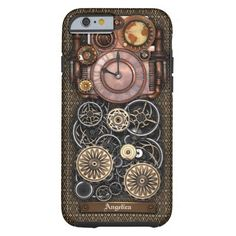 Vintage Steampunk Timepiece Redux #2 iPhone 6 Case