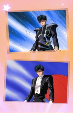 Sailor Moon ~~ Prince Endymion / Tuxedo Mask...-less