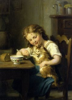 In childhood a very special flavor ... Fritz Zuber-Buhler. Discussion on LiveInternet - Russian Service Online diary