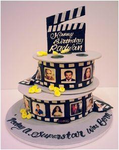 Movie reel cake www.facebook.com/Sugaholic.Cakes