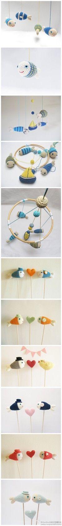 Mobile stuffed animals