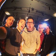 Simple Plan <3 Jeff, Sébastien, Pierre, Chuck et David.