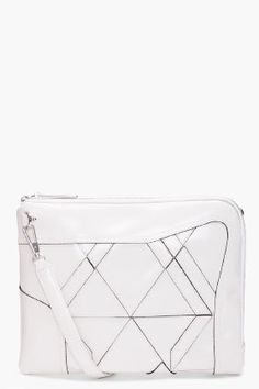 3.1 PHILLIP LIM Axial Patchwork Clutch