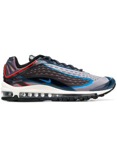 Nike Air Max Deluxe Printed Neoprene And Rubber Sneakers In Grey Air Max 97, Nike Air Max, Air Max Sneakers, Sneakers Nike, Nike Shoes, Discount Shoes Online, Cult Following, Photo Blue, Sports Shoes