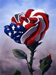 Eiflow Diamond Painting Kits Flag Rose Full Drill Round Rhinestone Embroidery Kits Paint by Diamonds Flower DIY Art Craft for Home Wall Decor I Love America, God Bless America, Memorial Day, American Flag Wallpaper, 4th Of July Images, American Flag Eagle, American Pride, Patriotic Pictures, Flag Art