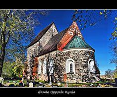 Gamla Uppsala Kyrka, Church of Old Uppsala, Sweden