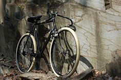 1954 Raleigh DL-1 Superbe Tourist converted into a 1930's style Path Racer by clintflack80, via Flickr