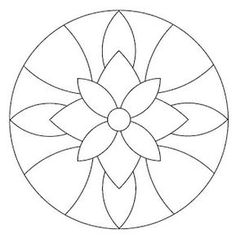 Instead of a mandala this would be a great stained glass pattern. Mandala Art, Mandala Drawing, Mandala Pattern, Mandala Towel, Easy Mandala, Mandala Coloring Pages, Colouring Pages, Adult Coloring Pages, Mosaic Art
