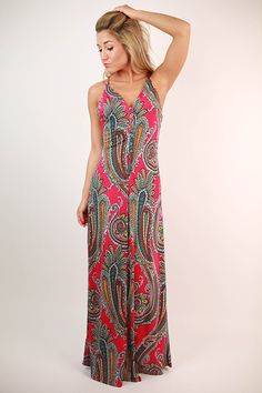 Perfect Harmony Maxi Dress