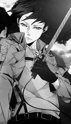 Shingeki no Kyojin | Attack On Titan | Anime | Boy | Badass | Heichou | Rivaille | Levi Ackerman