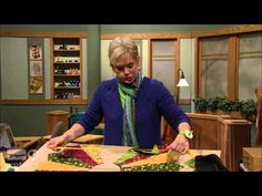 Variable Star Quilt | Midnight Quilt Show episode 1 with Angela Walters - YouTube