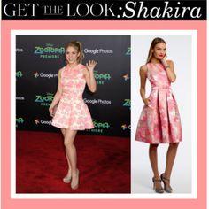 Get The Look: Shakira! #camillelavie