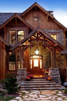 Love this Log Cabin.